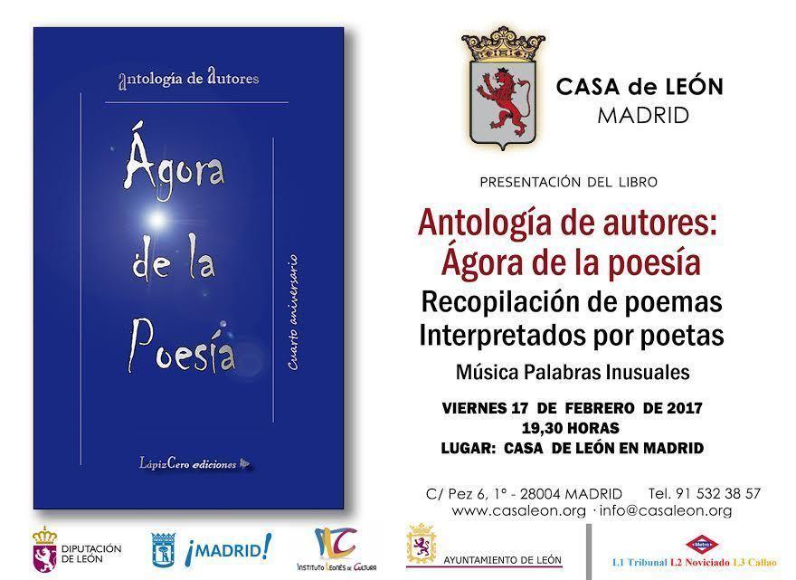 Invitación ÁGORA Casa de León