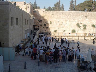 Muro de las lamentaciones en Jerusalén