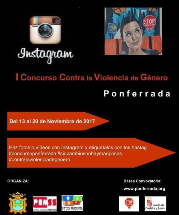 Cartel Concurso Instagram Logos G
