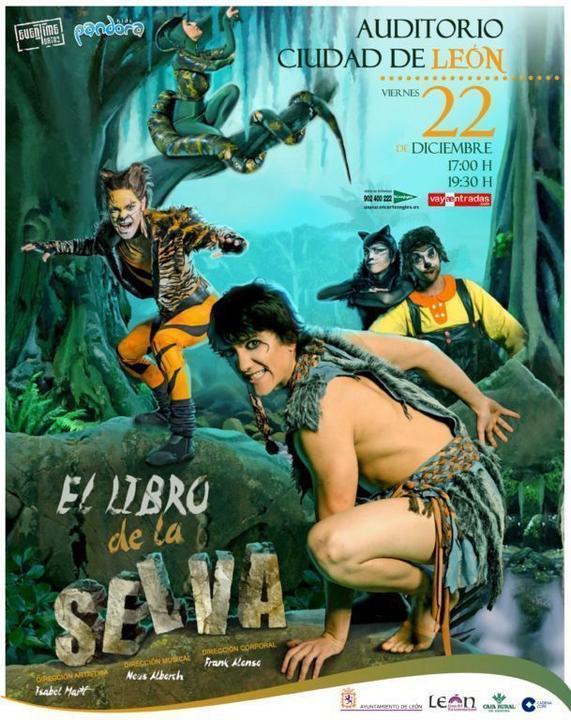 EL LIBRO DE LA SELVA, EL MUSICAL_Periódico El Buscador