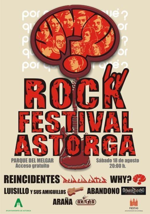 CARTEL WHY ROCK festival ASTORGA